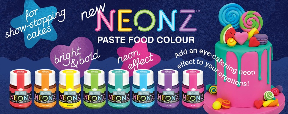 NEW NEONZ FOOD COLOURING