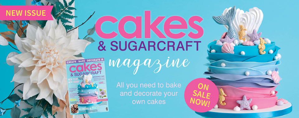 The latest issue of Cakes & Sugarcraft Magazine is out now